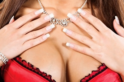 diamond jewelry breasts
